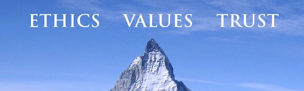 ethics values trust